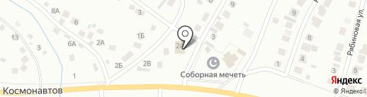 Деревянный дворик на карте Октябрьского