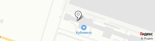 Кубометр на карте Октябрьского