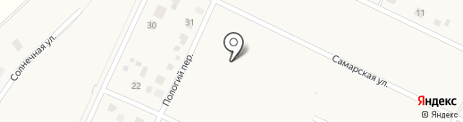 Покровичи на карте Подгородней Покровки