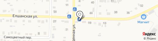 Спутник на карте Подгородней Покровки