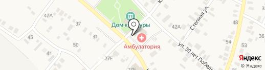 Пакров на карте Подгородней Покровки