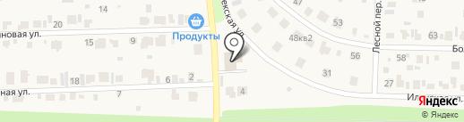 Пожарная часть №41 на карте Девятого Января