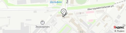 Народный балкон на карте Оренбурга