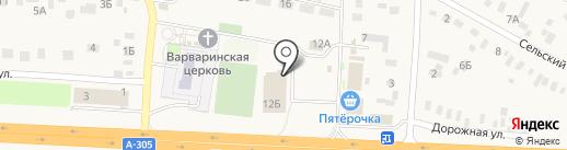 Магазин разливного пива на карте Южного Урала