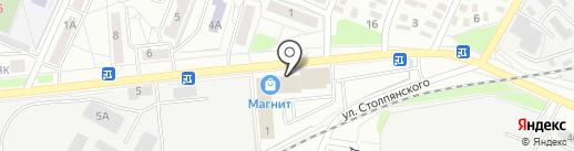 Магнит Косметик на карте Оренбурга