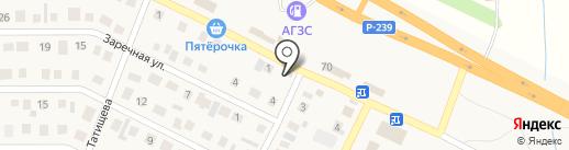 Малинка на карте Ленины
