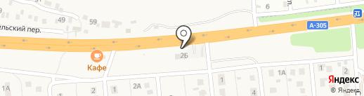 Кривошеев А.А. на карте Южного Урала