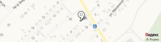 Продуктовый магазин на карте Ленины