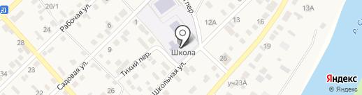 Ленинская средняя общеобразовательная школа Оренбургского района на карте Ленины