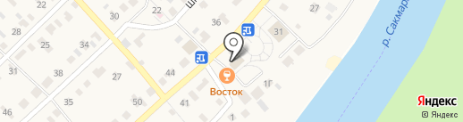 Почтовое отделение на карте Ленины