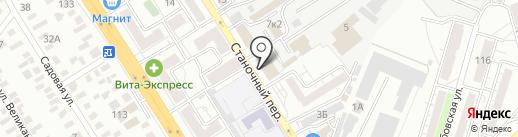 Магазин автозапчастей для КАМАЗ и сельхозтехники на карте Оренбурга