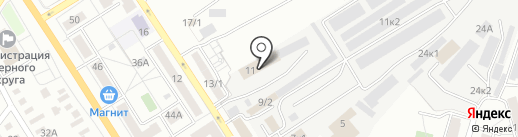 Фирма по изготовлению мебели под заказ на карте Оренбурга