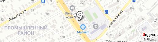 New House на карте Оренбурга