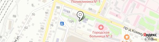 Центр гигиены и эпидемиологии по железнодорожному транспорту на карте Оренбурга