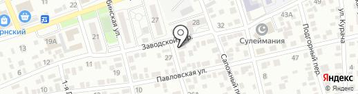 Версия на карте Оренбурга