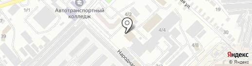 ОренСэндвич на карте Оренбурга