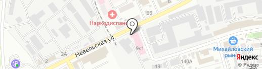 Мегаполис на карте Оренбурга