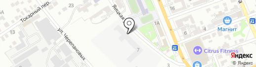 Станкогид на карте Оренбурга