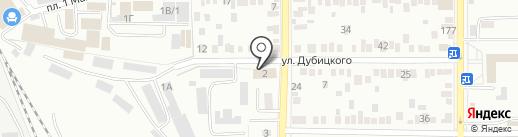 Управление МВД России по Оренбургской области на карте Оренбурга