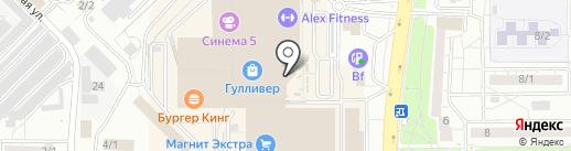 Caprice на карте Оренбурга