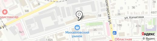 Хлебопродукт-2 на карте Оренбурга