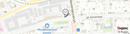 Центр правовой и социальной защиты русского народа на карте Оренбурга