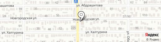 БАРТЕР ЦЕНТР на карте Оренбурга