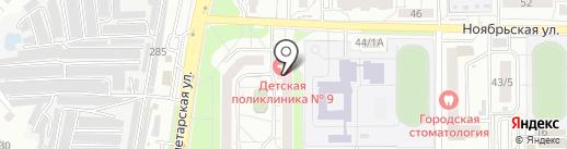 Comfort на карте Оренбурга