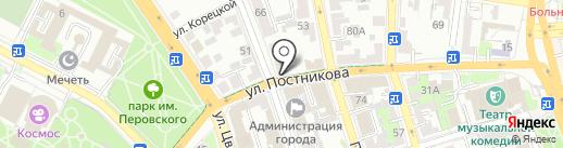 АВанс на карте Оренбурга