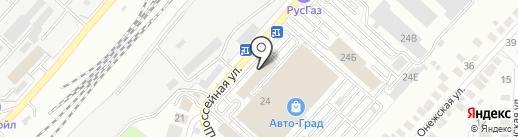 АвтоСклад56 на карте Оренбурга