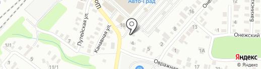 Шиномонтажная мастерская на карте Оренбурга