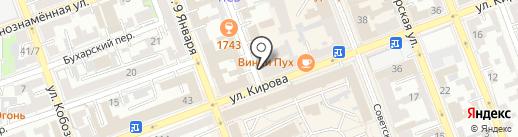 Система на карте Оренбурга