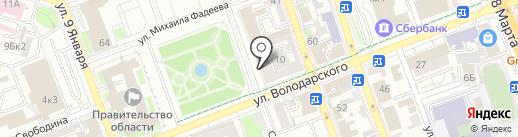 ГРИФОН на карте Оренбурга