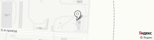 Промкар на карте Оренбурга