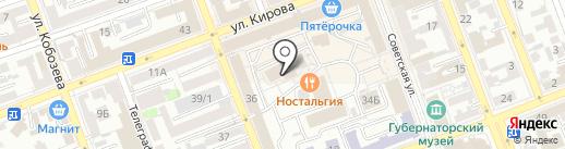 Консультативно–диагностический центр на карте Оренбурга
