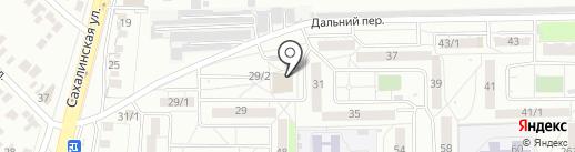 Стрекоза на карте Оренбурга