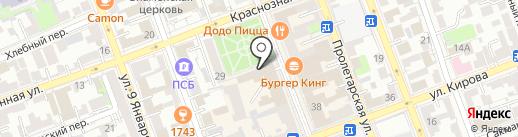 АнтиКредит на карте Оренбурга