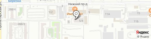 НОВОХИМ ОРЕНБУРГ на карте Оренбурга