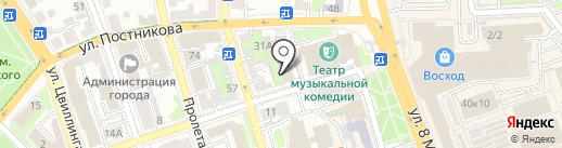 Центр недвижимости на карте Оренбурга