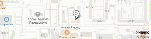 ЗДОРОВЁНОК на карте Оренбурга