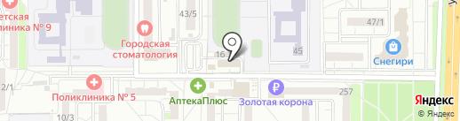 Мясная деревня на карте Оренбурга