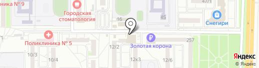 Светлана на карте Оренбурга