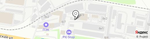 Фортуна на карте Оренбурга