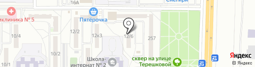 Фонбет на карте Оренбурга