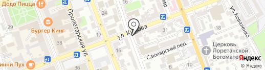 Global Juris на карте Оренбурга