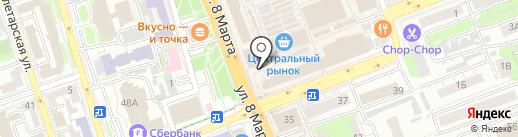 Авангард 56 на карте Оренбурга