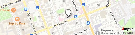 Лидер на карте Оренбурга