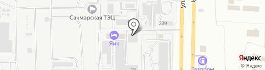 Elit & Avto на карте Оренбурга
