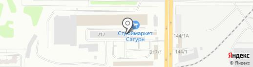 Дом кедра на карте Оренбурга