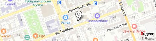 ОРИХ-групп на карте Оренбурга